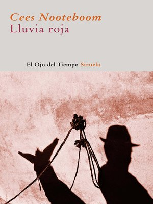 cover image of Lluvia roja