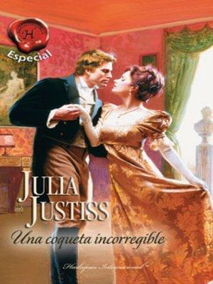 cover image of Una coqueta incorregible