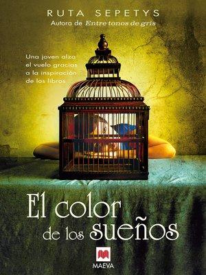 cover image of El color de los sueños