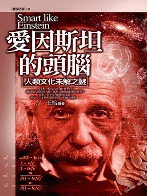 cover image of 愛因斯坦的頭腦:人類文化未解之謎