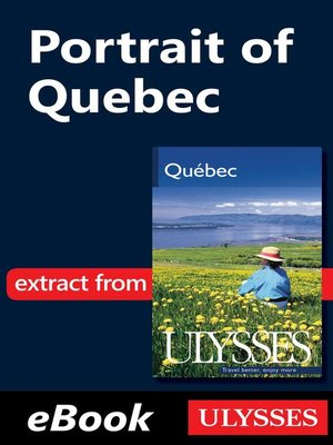 cover image of Portrait of Quebec