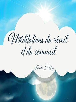 cover image of Méditation du réveil et du sommeil (N.Éd.)