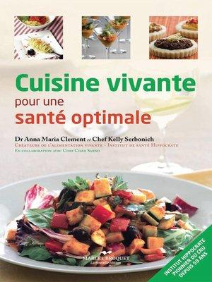 cover image of Cuisine vivante pour une santé optimale