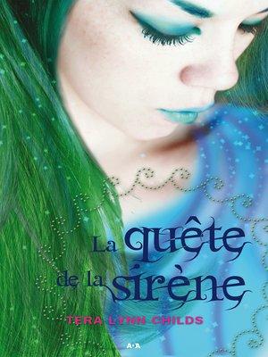 cover image of La quête de la sirène