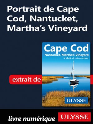cover image of Portrait de Cape Cod, Nantucket, Martha's Vineyard