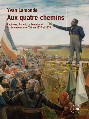 cover image of Aux quatre chemins