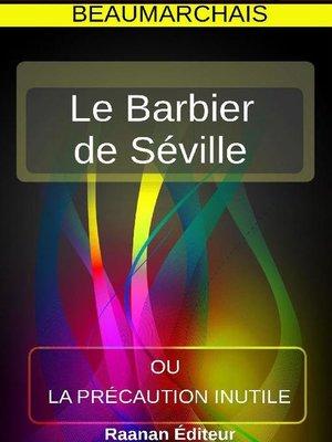 cover image of Le Barbier de Séville