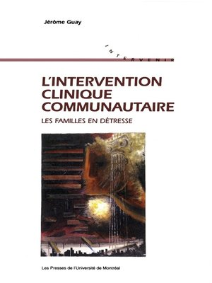 cover image of L'intervention clinique communautaire