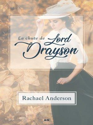 cover image of La chute de Lord Drayson
