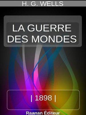 cover image of LA GUERRE DES MONDES