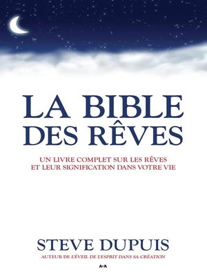 cover image of La bible des rêves