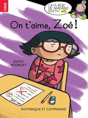 cover image of On t'aime, Zoé !