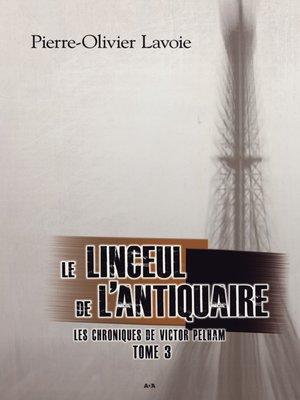 cover image of Le linceul de l'antiquaire