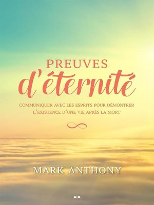 cover image of Preuves d'éternité