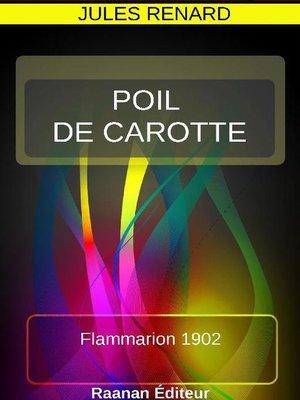 cover image of POIL DE CAROTTE