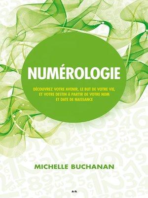 cover image of Numérologie