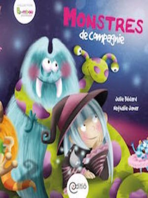cover image of Monstres de compagnie