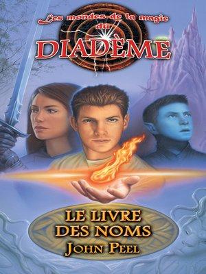 cover image of Le livre des noms