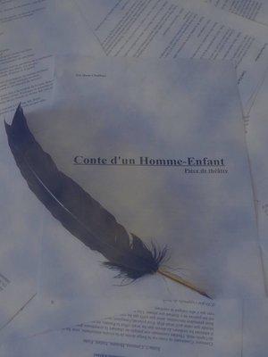 cover image of CONTE D'UN HOMME-ENFANT