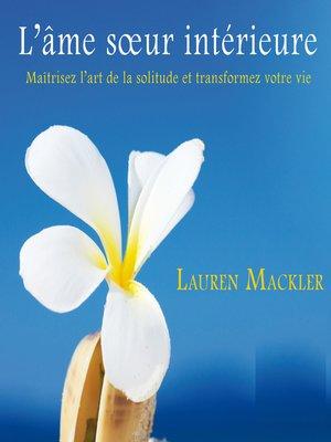 cover image of L'âme sœur intérieure