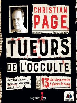 cover image of Tueurs de l'occulte