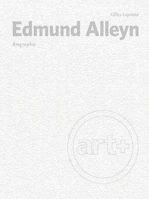 cover image of Edmund Alleyn