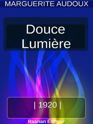 cover image of Douce lumière