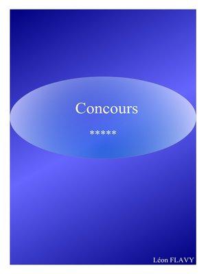 cover image of CONCOURS OFFICIER GENDARMERIE*****
