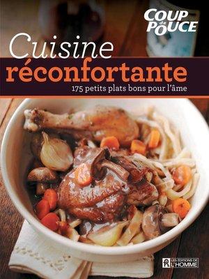 cover image of Cuisine réconfortante