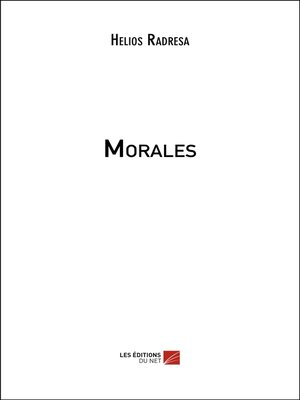 cover image of Morales