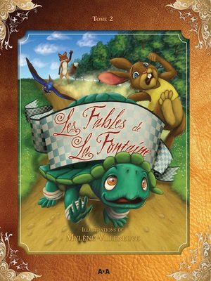 cover image of Les fables de La Fontaine, Tome 2