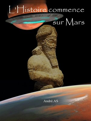 cover image of L'HISTOIRE COMMENCE SUR MARS