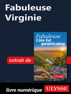 cover image of Fabuleuse Virginie