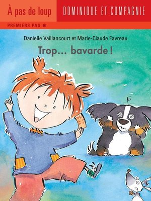 cover image of Trop... bavarde !