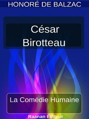 cover image of CÉSAR BIROTTEAU
