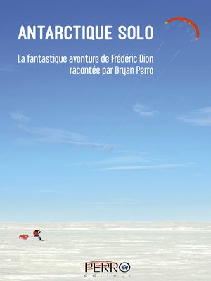 cover image of Antarctique solo