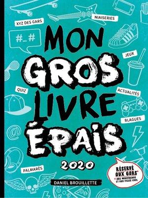 cover image of Mon gros livre épais