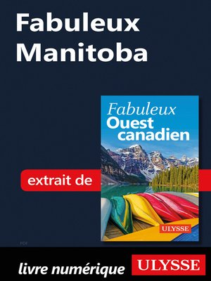 cover image of Fabuleux Manitoba