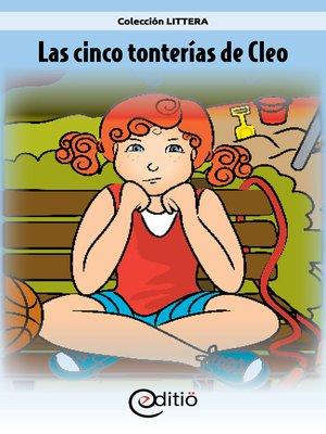 cover image of Las cinco tonterías de Cleo