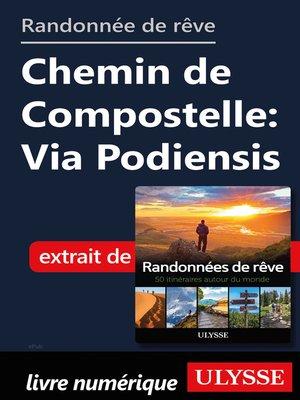 cover image of Randonnée de rêve- Chemin de Compostelle