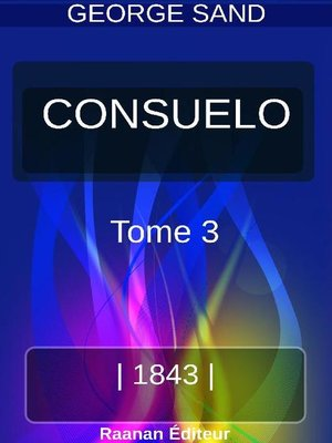 cover image of Consuelo 3