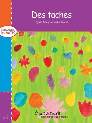 cover image of Des taches