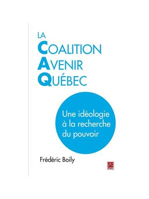 cover image of La Coalition Avenir Québec