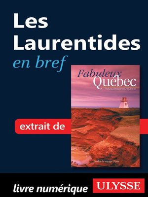cover image of Les Laurentides en bref