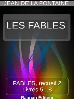 cover image of FABLES DE LA FONTAINE