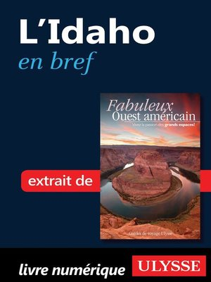 cover image of L'Idaho en bref