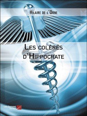cover image of Les colères d'Hippocrate