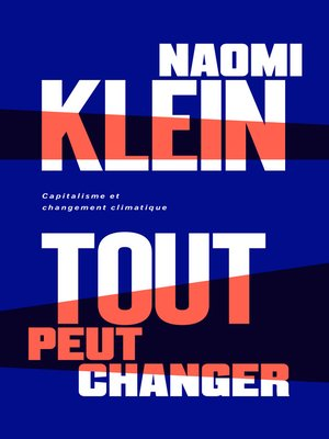 cover image of Tout peut changer