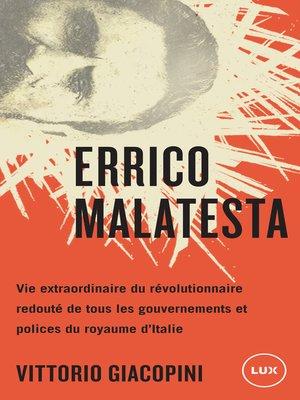 cover image of Errico Malatesta