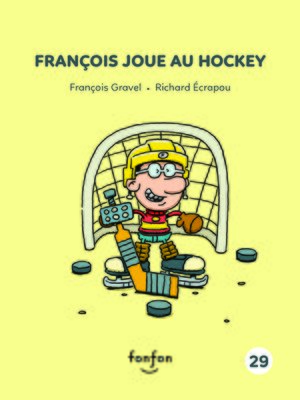 cover image of François joue au hockey